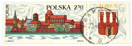 torun: old polish stamp Torun