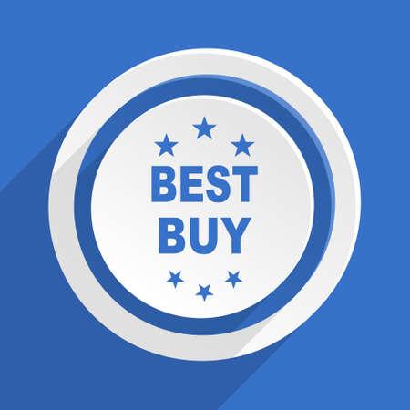 best buy: best buy blue flat design modern icon