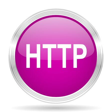 http: http pink modern web design glossy circle icon