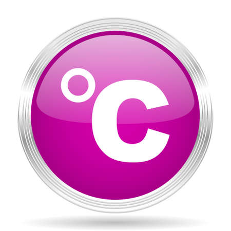 celsius: celsius pink modern web design glossy circle icon
