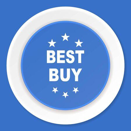 best buy: best buy blue flat design modern web icon