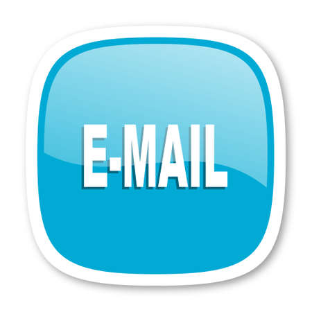 secretariat: email blue glossy icon