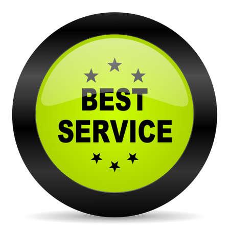 best service: best service icon Stock Photo