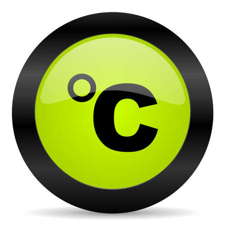 celsius: celsius icon Stock Photo