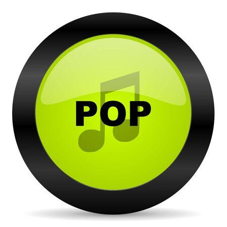 pop music: pop music icon