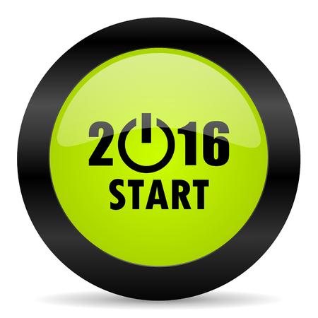 year: year 2016 icon