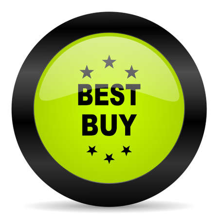 best buy: best buy icon Stock Photo