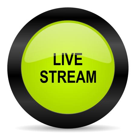 live stream radio: live stream icon