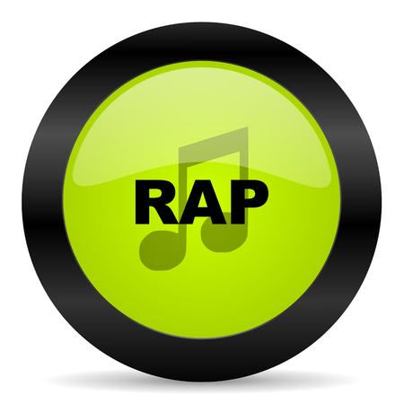 rap music: rap music icon