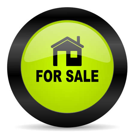 for sale: for sale icon Stock Photo