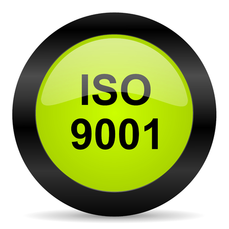 certificated: iso 9001 icon