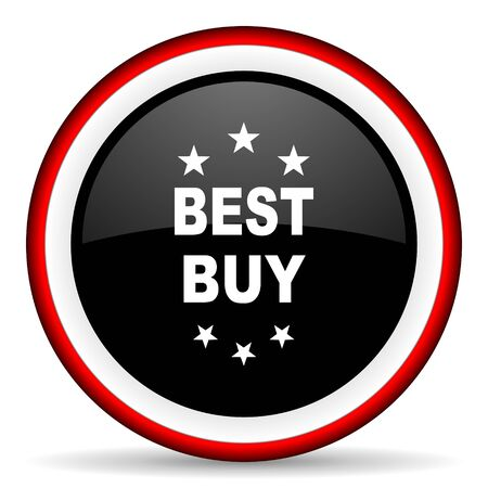 best buy: best buy round glossy icon, modern design web element