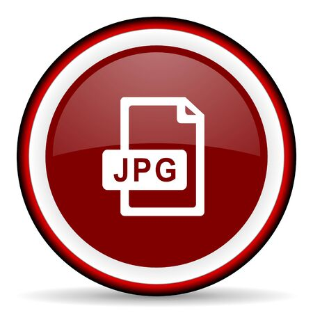 pushbuttons: jpg file round glossy icon, modern design web element