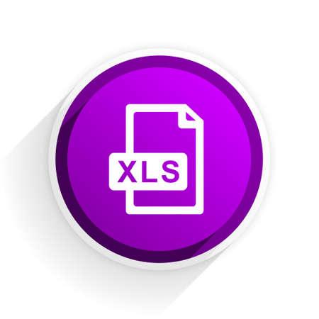 xls file flat icon