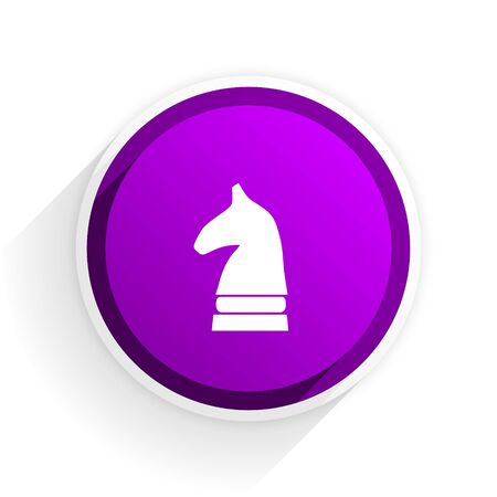 chess horse: chess horse flat icon