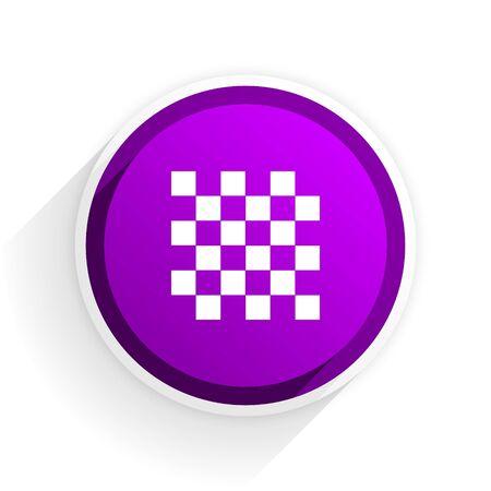 flat: chess flat icon Stock Photo