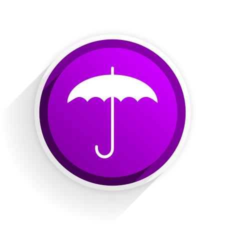flat: umbrella flat icon