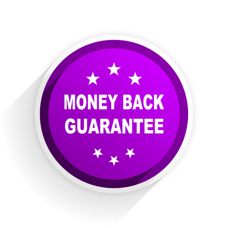 money back: money back guarantee flat icon