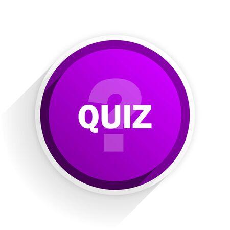 quiz: quiz flat icon