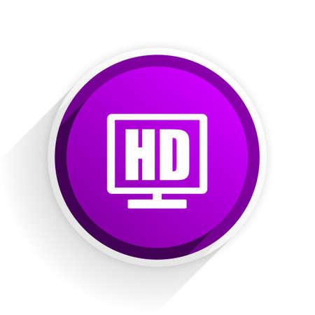 display: hd display flat icon
