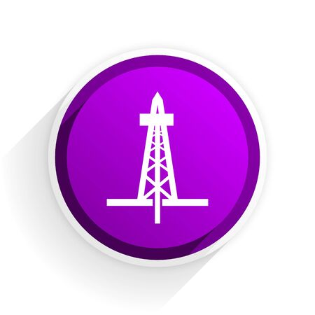 drilling: drilling flat icon
