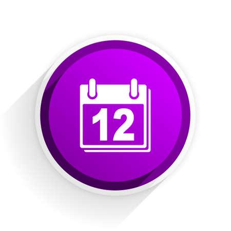 calendar icon: calendar flat icon