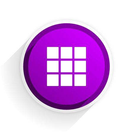 grid: thumbnails grid flat icon