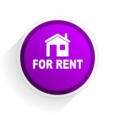 rent: for rent flat icon