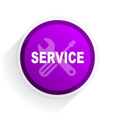 flat: service flat icon