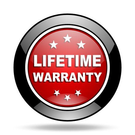 warranty: lifetime warranty icon