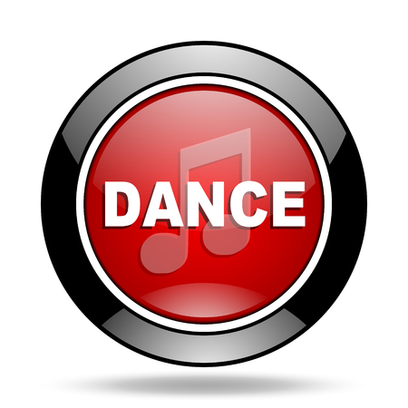 listen live stream: dance music icon Stock Photo