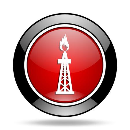 gas icon: gas icon Stock Photo