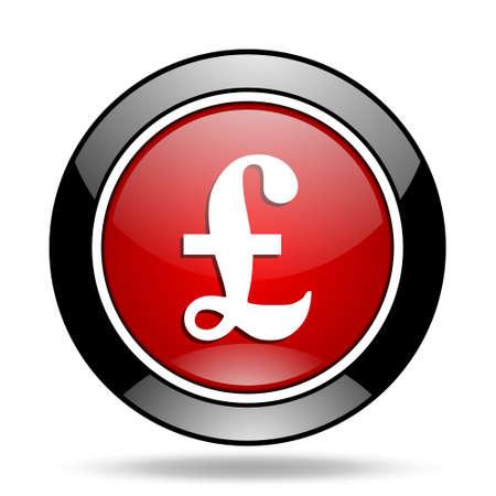 pound icon Stock Photo