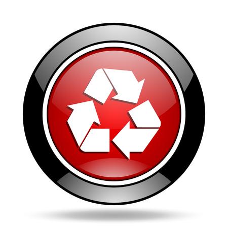 original ecological: recycle icon Stock Photo