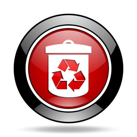 recycle icon: recycle icon Stock Photo