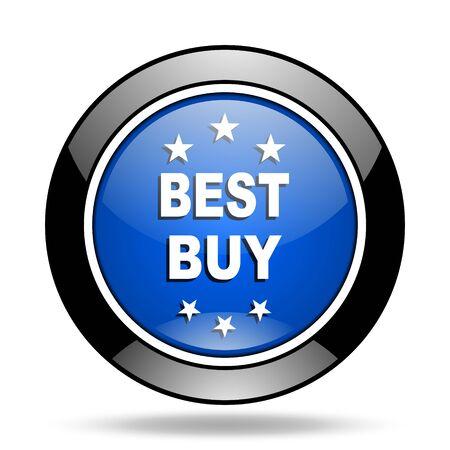 best buy: best buy blue glossy icon