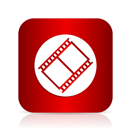 film red square modern design icon