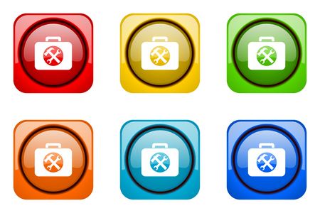 toolkit: toolkit colorful web icons