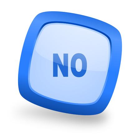 no blue glossy web design icon