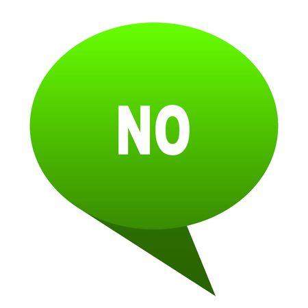no green bubble web icon
