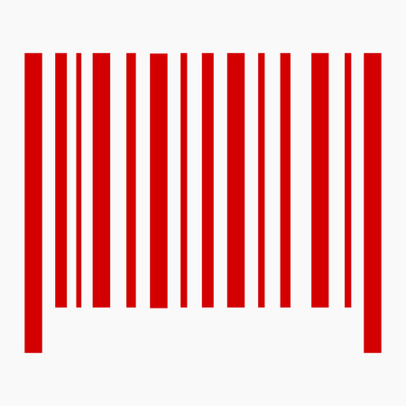 Barcode web icon vector illustration design. Banque d'images - 76566745