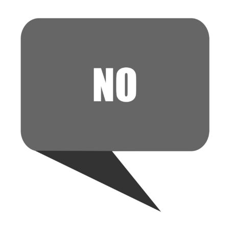 No flat design web bubble vector icon.