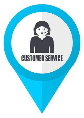 hotline: blue glossyblue pointer icon