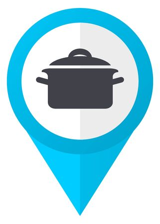 Cook blue pointer icon