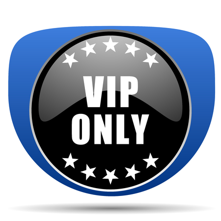 Vip only web icon