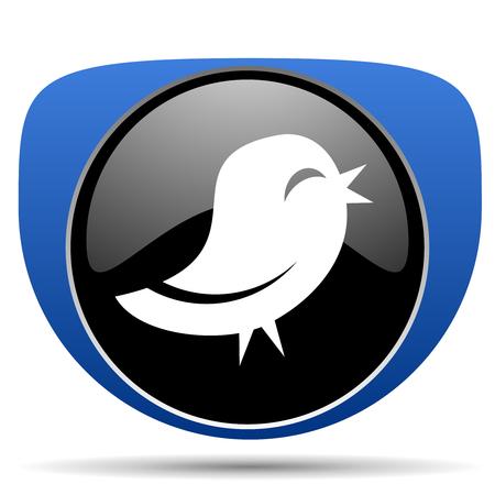 Bird web icon Stock Photo