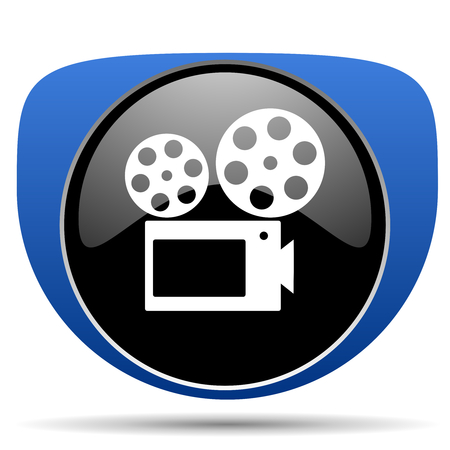 Movie web icon 写真素材