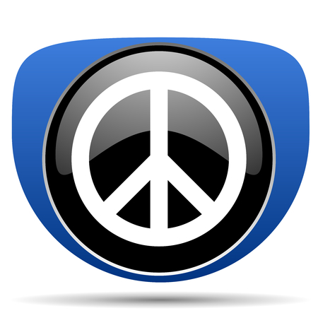 Peace web icon
