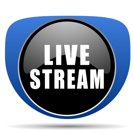 Live stream web icon