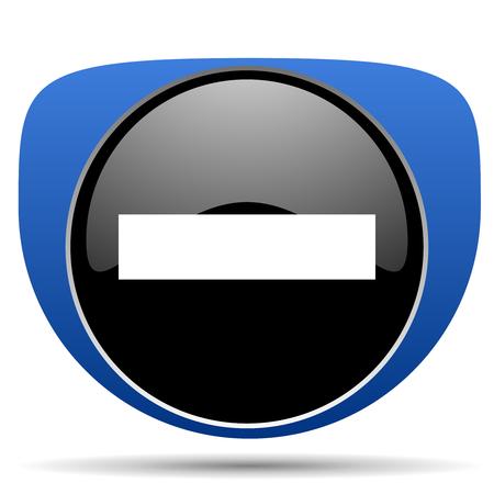 Minus web icon